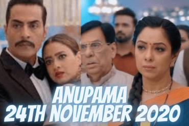 Anupama 24th november 2020