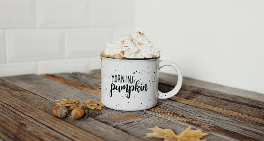 Sugar-free Bulletproof pumpkin spice latte