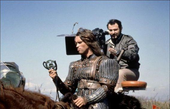John Milius and Arnold 2