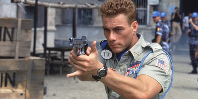 Jean-Claude Van Damme as Col. Guile in Street Fighter.
