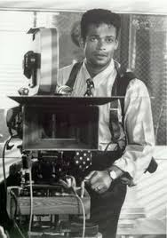 director on set of New Jack City