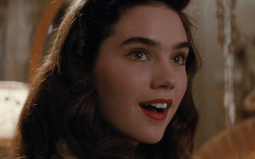 Damsels: Jennifer Connelly – The Rocketeer – BULLETPROOF ... Labyrinth Gif