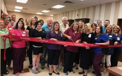 Fort Mohave Walk-In Care ribbon cutting