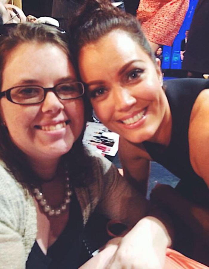 Anna Labor and Bellamy Young at Paley Fest
