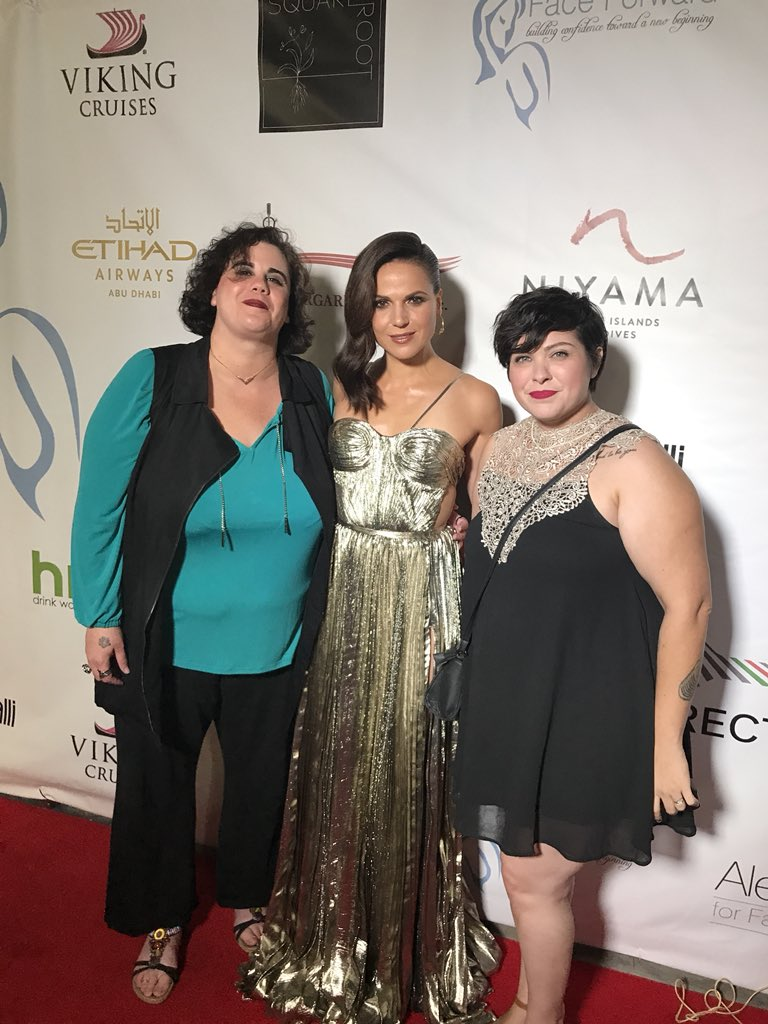 Dana Jacoviello - Founder/CEO Bullies Keep Out, Lana Parilla - Actress and Face Forward Ambassador and Malerie MacDonald - Bullies Keep Out Advocate