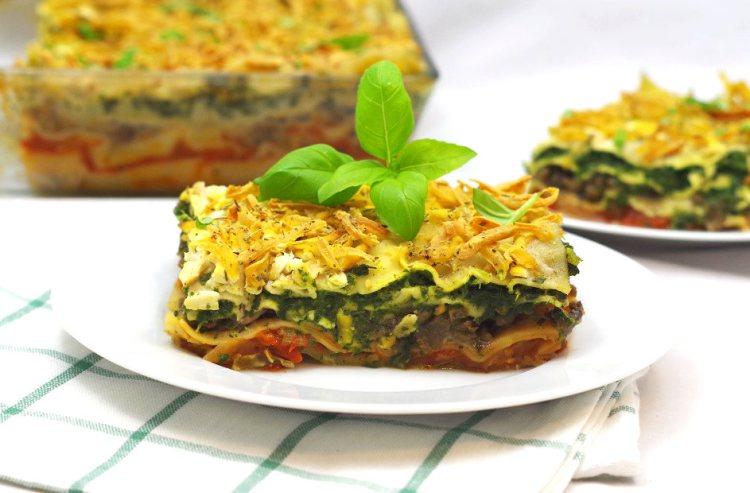 Wegańska lasagne 3
