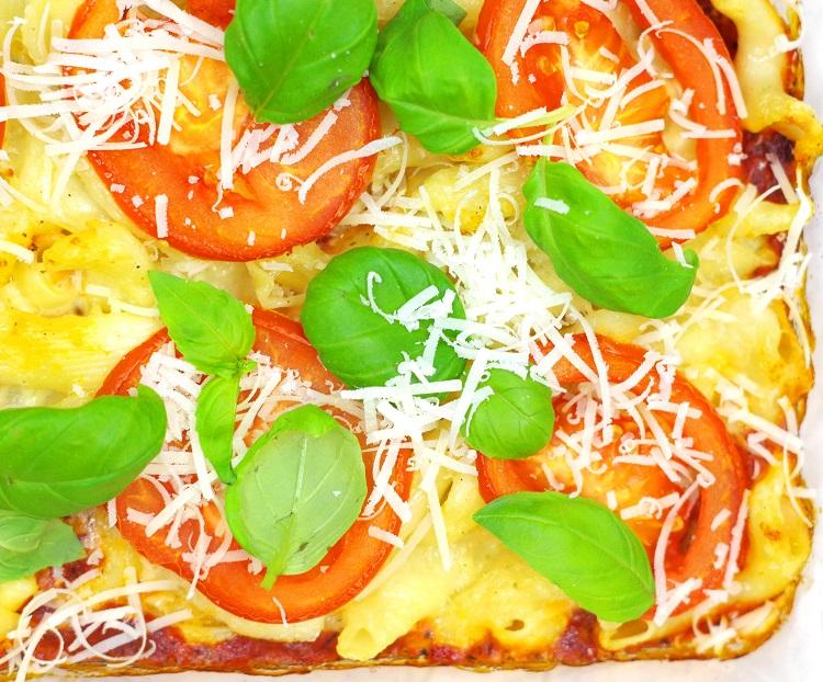 Zapiekanka makaronowo-serowa z pomidorami 2