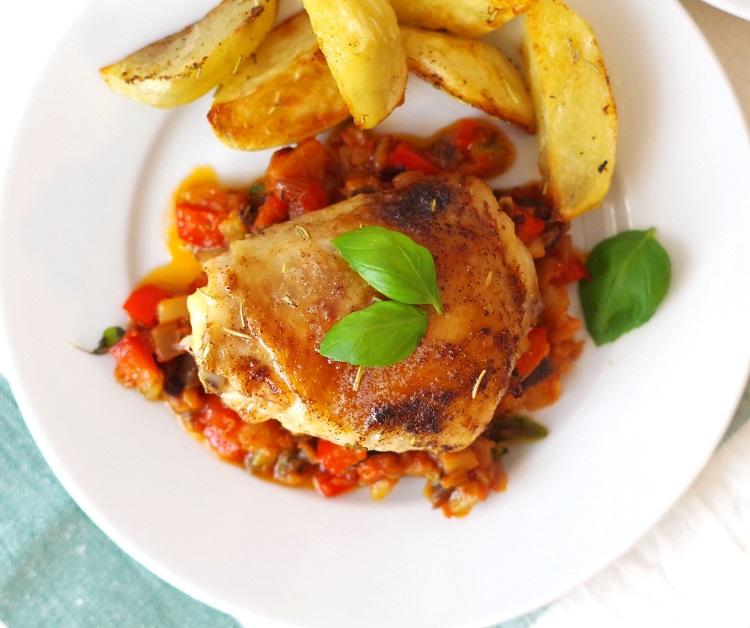 Kurczak w ratatouille 2
