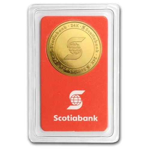 Bullion Mart Scotia Gold Coin