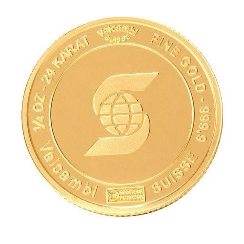 1/4 oz gold bar round scotiabank
