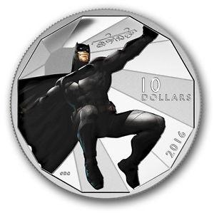 2016 - $10 Fine Silver Coin - Batman V Superman : Dawn of Justice - Batman
