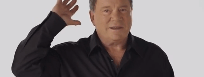 William Shatner Sings Oh Canada
