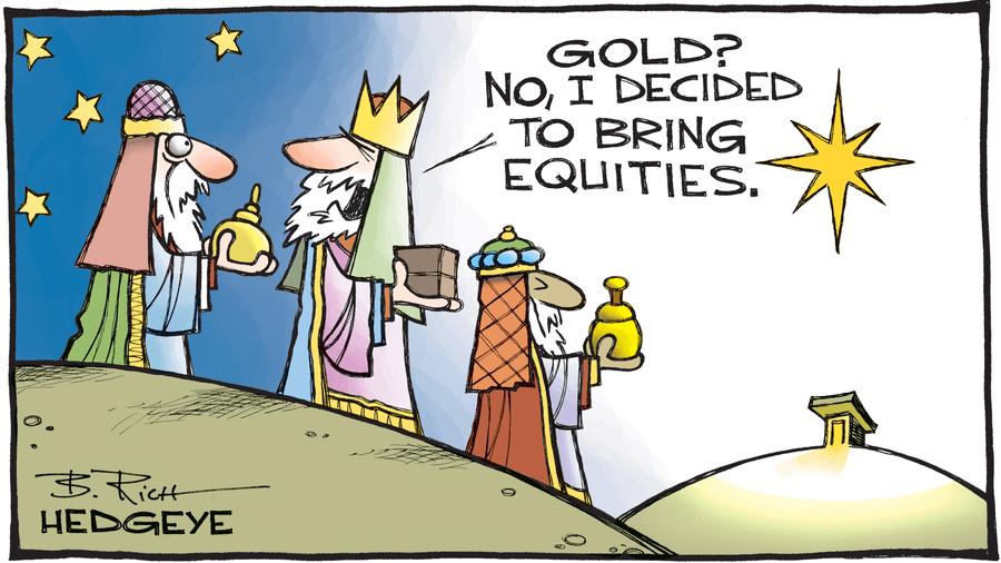 BullsandBears preferisce i titoli azionari all'oro