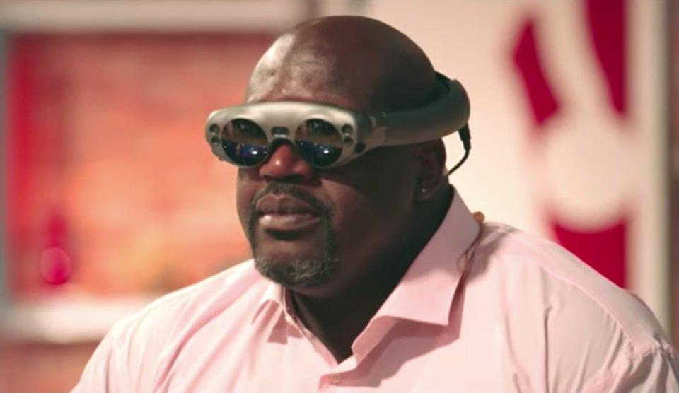 Anche Shaq si è fatto convincere dal visore per la realtà aumentata Magic Leap