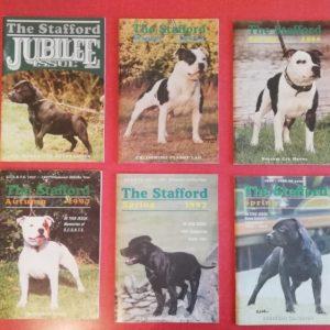 riviste sullo staffordshire bull terrier