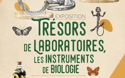 La visite virtuelle de l'exposition «Trésos de laboratoire»