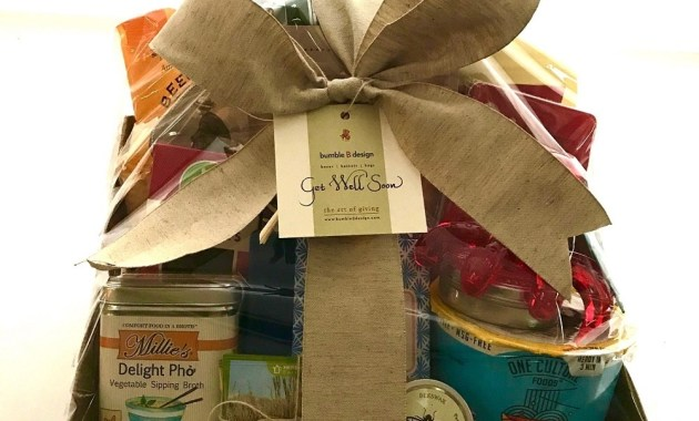 Get Well Basket - bumble B design