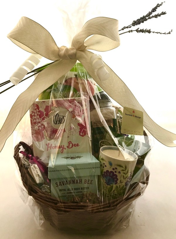 bumbleBdesign - Time Out Basket - Seattle relaxation gifts