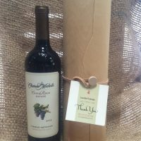 bumbleBdesign-Wine Cylinder-with Thank You card