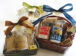 Gift Baskets for an auction