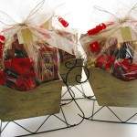 bumble B design's Holiday Sleigh Basket - Seattle, WA