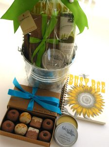 bumble B design's  Garden Gift Basket, Seattle