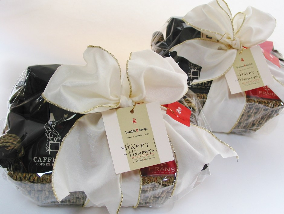 bumbleBdesign-Chocolate+Coffee-Holiday Gift Basket-Seattle