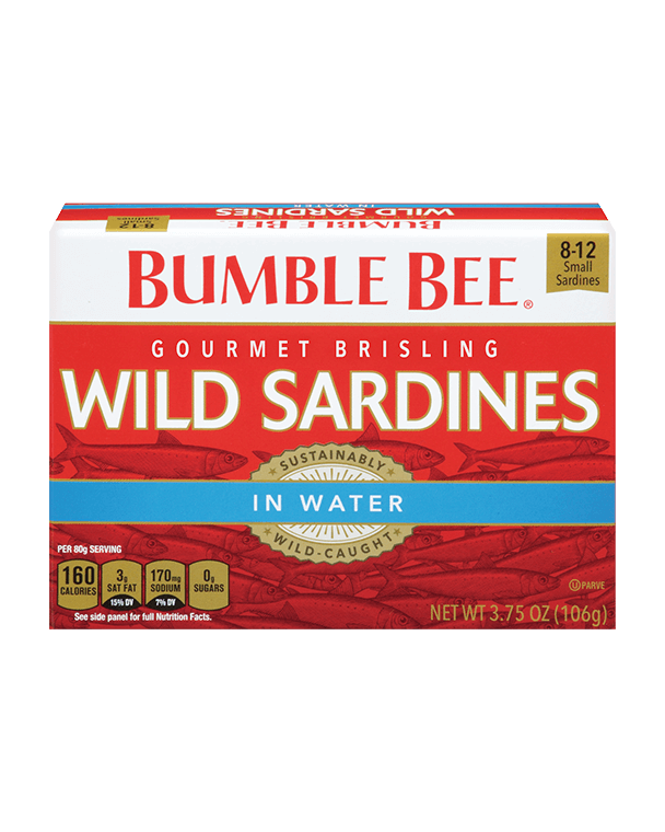 Bumble Bee® Gourmet Brisling Wild Sardines in Water