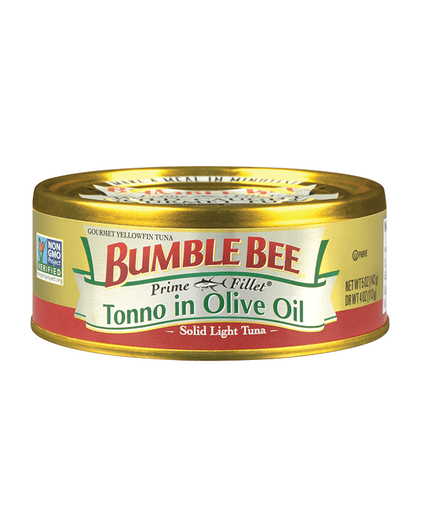 Bumble Bee® Prime Fillet® Solid Light Tuna – Tonno in Olive Oil