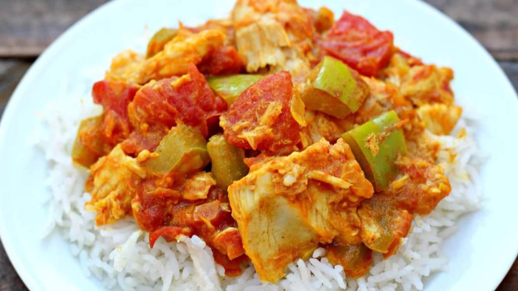 Quick Tuna Curry