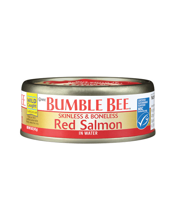 BUMBLE BEE® Skinless Boneless Red Salmon