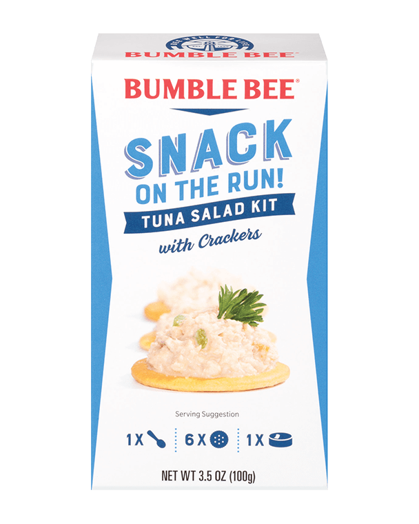 BUMBLE BEE® Snack On The Run! Tuna Salad Kit With Crackers