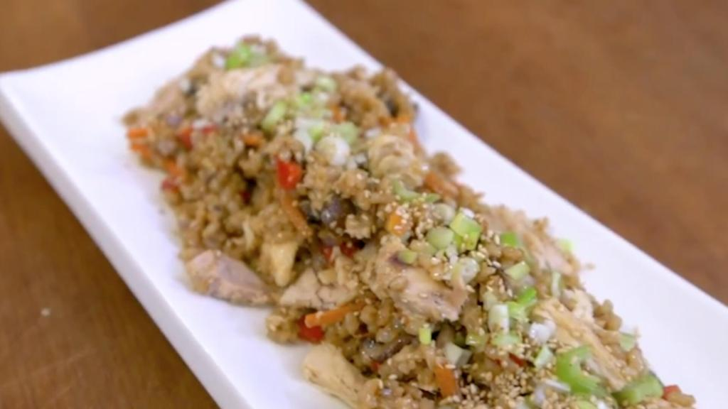Tuna Fried Rice by Sam the Cooking Guy®