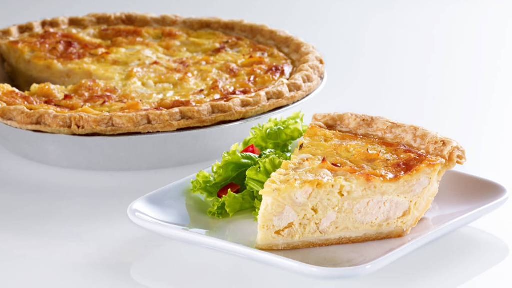 Chicken Bacon Quiche