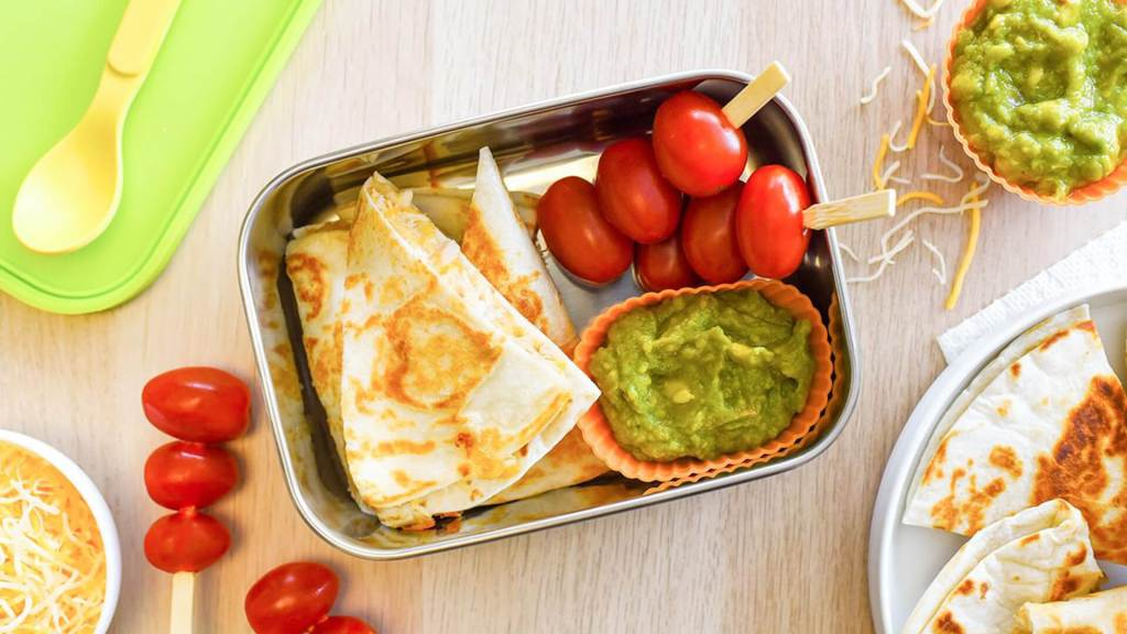 Kid-Friendly Tuna Quesadillas