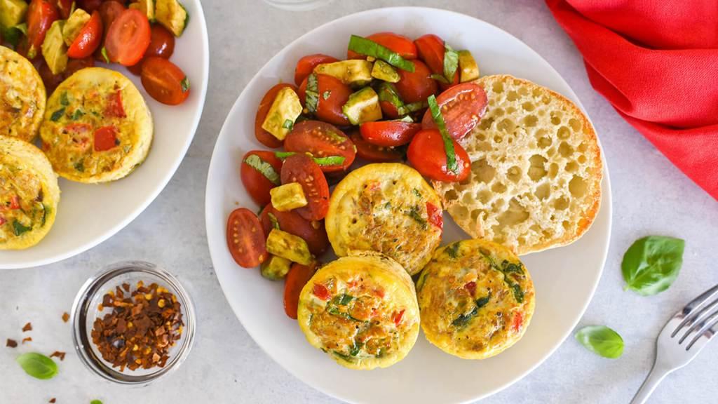 Mediterranean Egg Muffin Cups