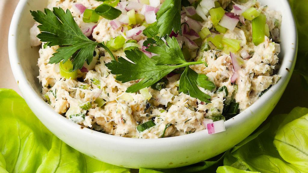 Loaded Tuna Salad
