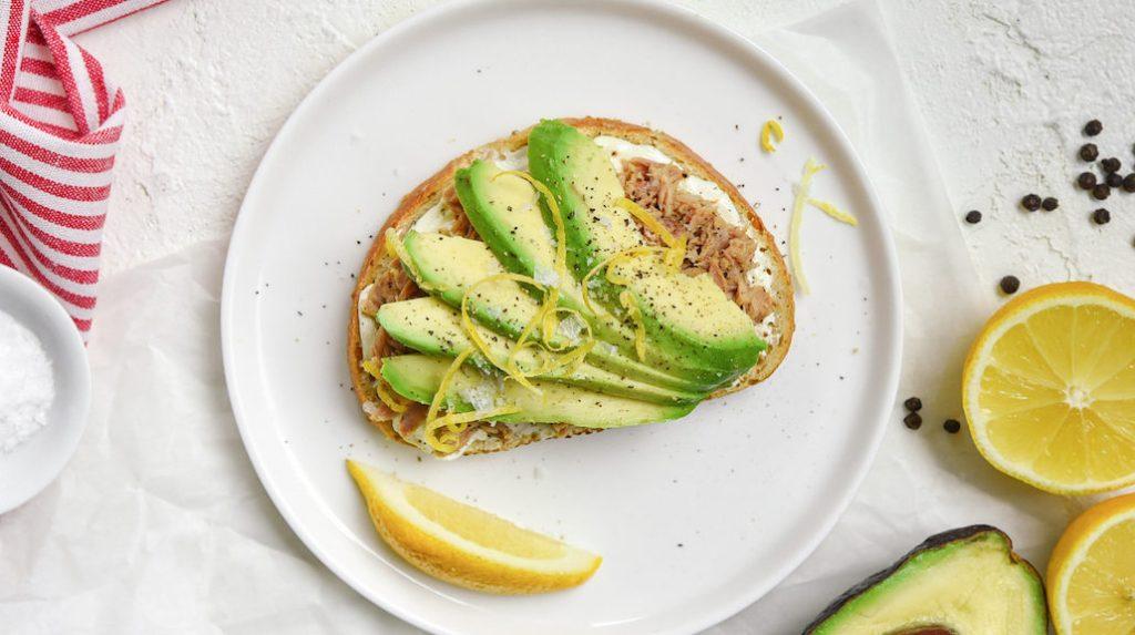 Avocado Tuna Toast