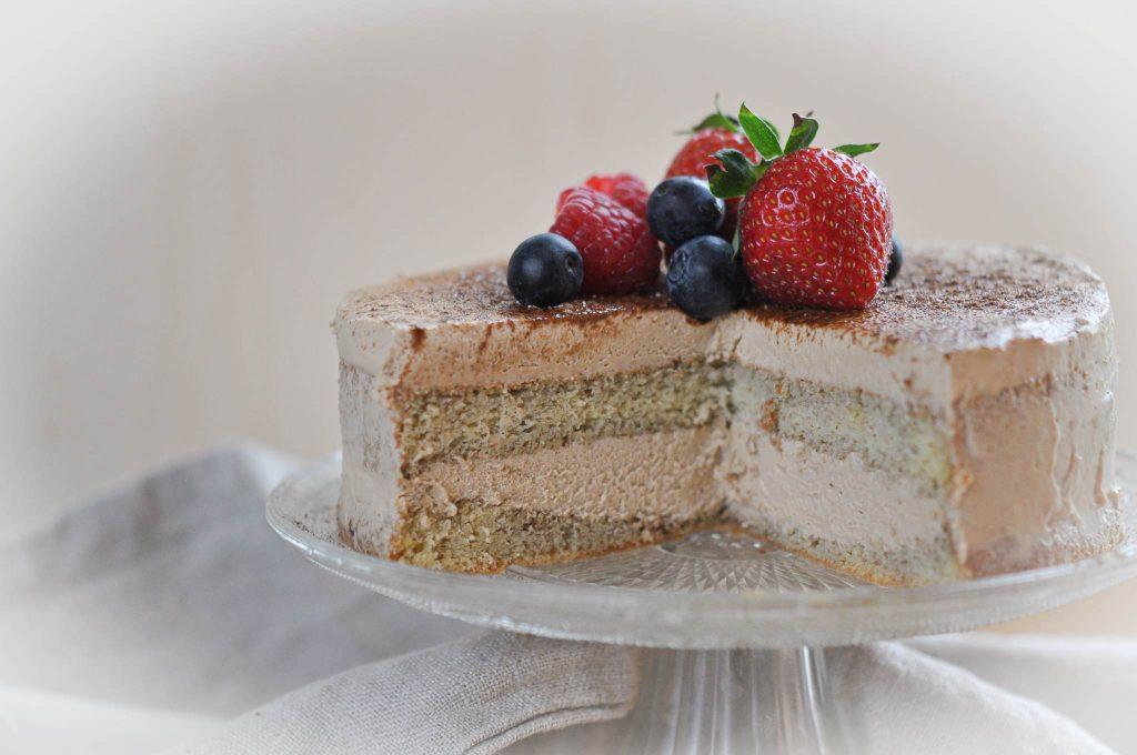 Keto Mokkacreme-Torte