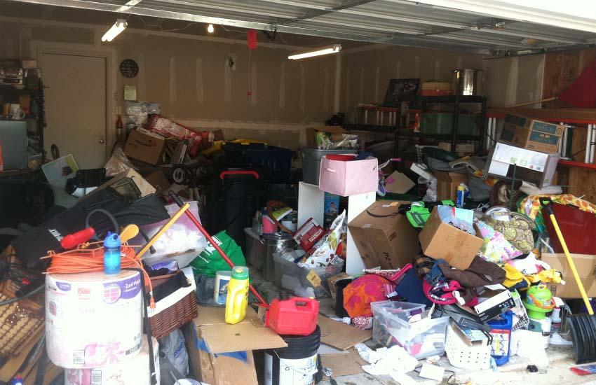 garage before burbank junk removal