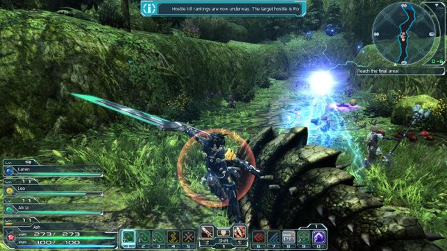 PSO2 SEA Forest 2