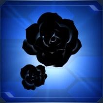 ブラックシンプルローズ Simple Rose Black
