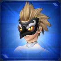 黒カラステングの面Black Crow Tengu Mask