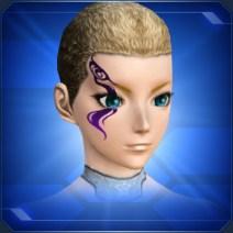 ブレイズメイク紫 Blaze Makeup Purple