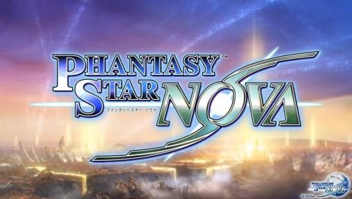 Phantasy Star Nova Logo