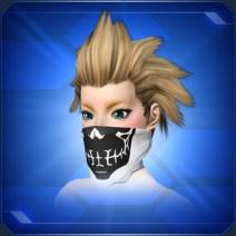 スカルバンダナマスクA Skull Bandana Mask A