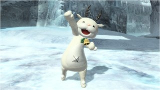 White Reindeer Costume