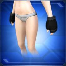ブラックファーグローブ Black Fur Gloves