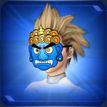青オニのおめん Blue Oni Mask