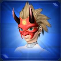 新光紅鬼面 Pristine Red Devil Mask